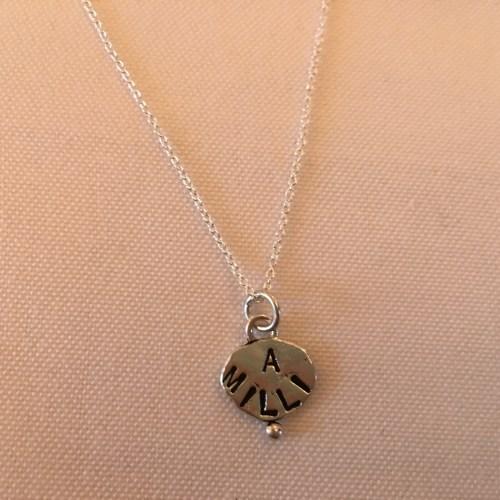 "My ""a milli"" necklace"