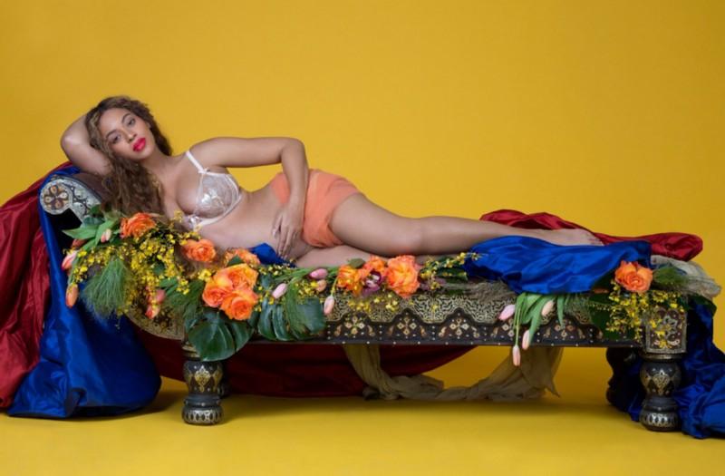 Beyonce pregnancy shot